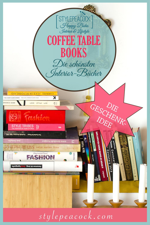 COFFEE TABLE BOOKS | [beinhaltet werbung]GESCHENKIDEE INTERIOR & DESIGN BÜCHER