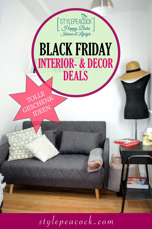 Die besten Interior-Deals zum Black Friday und der Cyber Week [beinhaltet werbung & affiliate links]