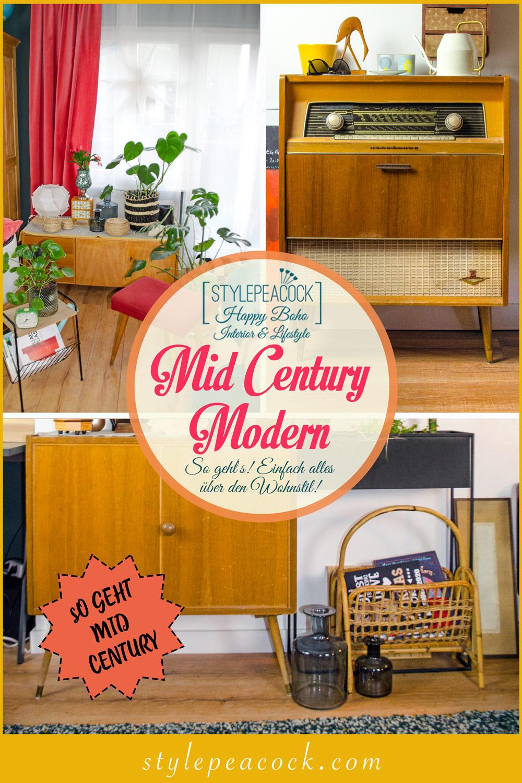 MID CENTURY MODERN [unbeauftragte werbung]Ein Wohnstil so vintage wie trendig & aktuell