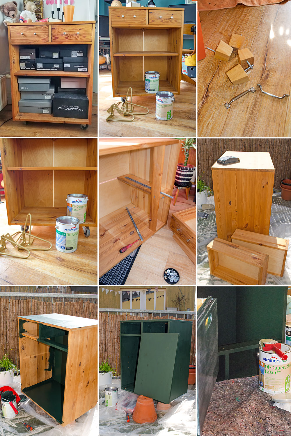 INTERIOR UPCYCLING MID-CENTURY HIGHBOARD DIY mit Remmers [eco]| (anzeige)