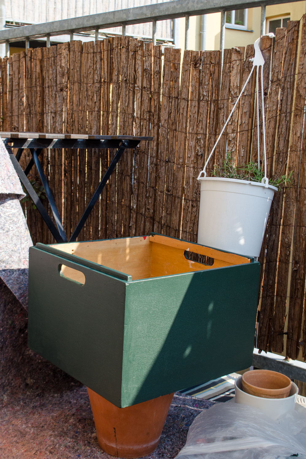 DIY UPCYCLING MID-CENTURY HIGHBOARD DIY mit Remmers [eco]| (anzeige)
