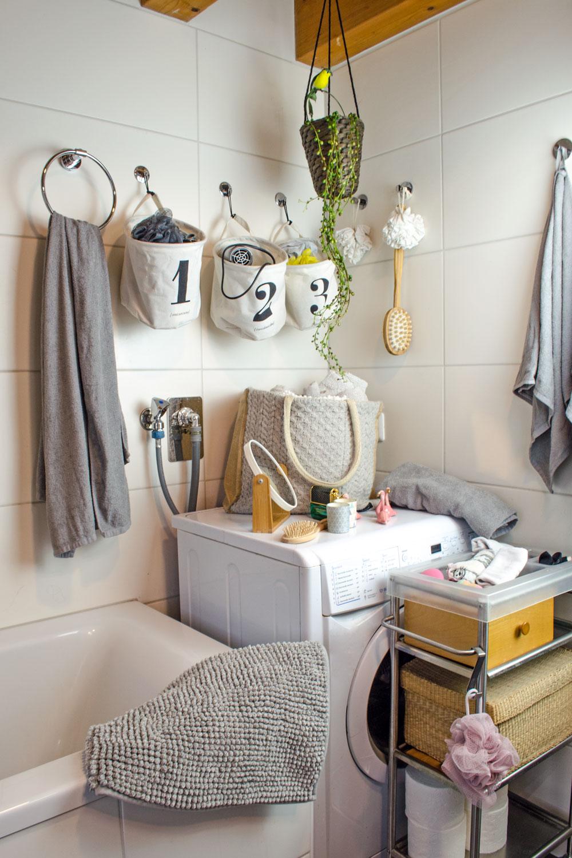 Stoffkoerbe im Bad| So gestaltest du dein Bad mit wenig Einsatz - und fast kostenfrei - total gemütlich [unbezahlte werbung]