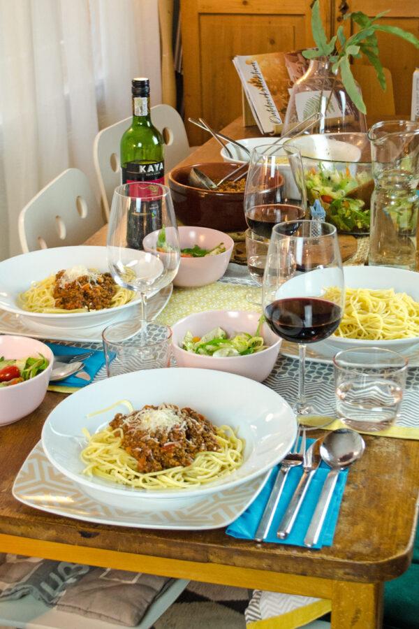 Spaghetti Bolognese fettarm & einfach