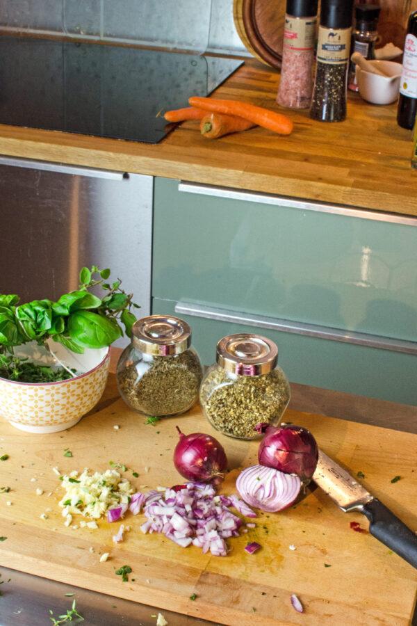 Leckere Blogonese Sauce, so einfach und fettarm