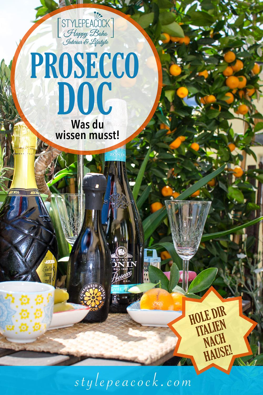 Prosecco DOC | Echten Prosecco erkennen und genießen [anzeige]