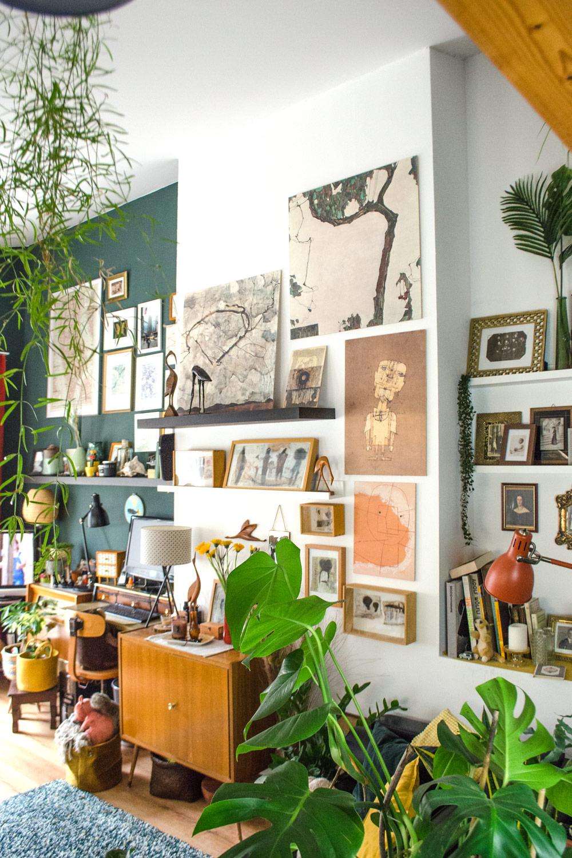 Moderne Malerei als Holzbild von Posterlounge [anzeige]
