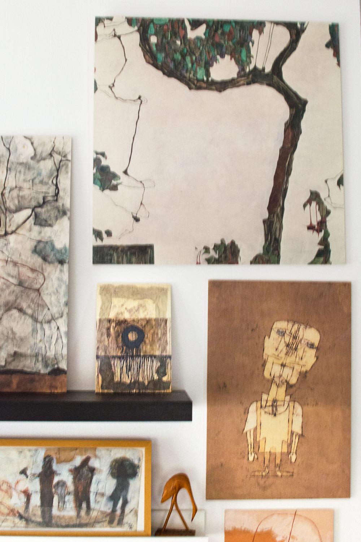 Moderne Kunst als Holzbild von Posterlounge [anzeige]