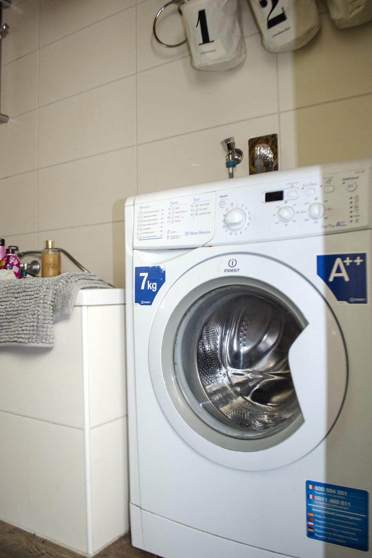 DIY Waschmaschine verkleiden und tolles Bad Makeover [unbezahlte werbung | affiliate links]