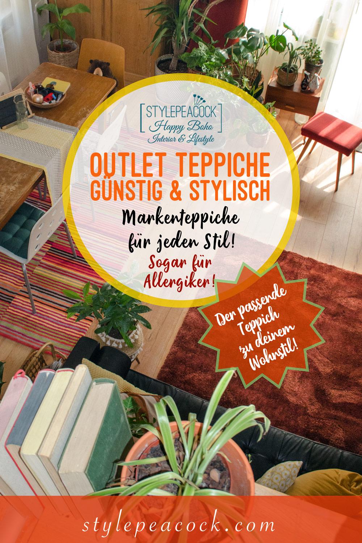 Outlet Teppiche zum tollen Preis, modern & stylisch und sogar Allergiker freundlich