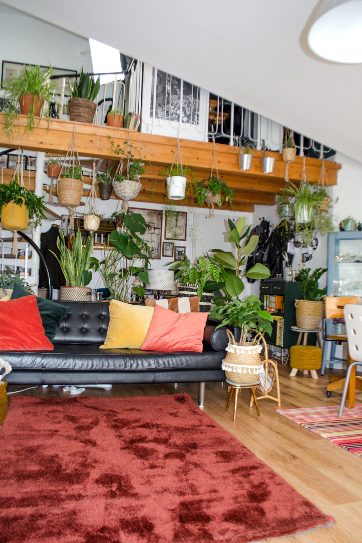 Mid-century Boho Style | Oulet Teppiche für mein Wohnzimmer