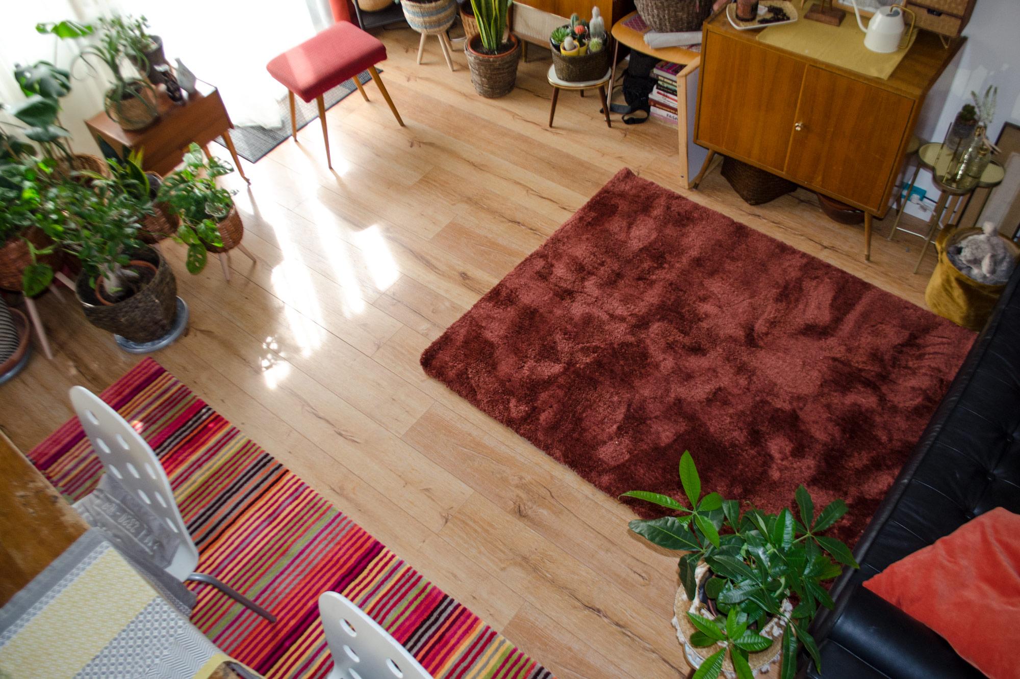 Mid-century Boho Style | Oulet Teppiche für mein WohnzimmerMid-century Boho Style | Oulet Teppiche für mein Wohnzimmer