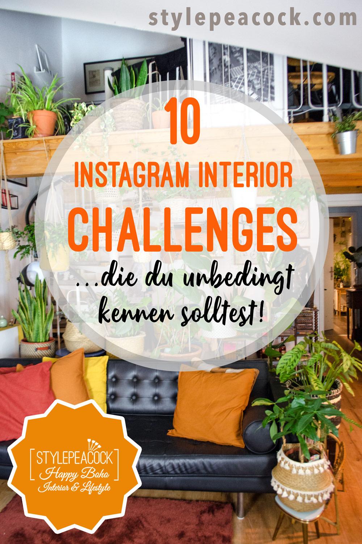 10 Instagram Interior Challenges, die du kennen musst [unbezahlte werbung]