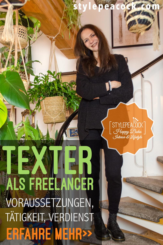 Texter als Freelancer | Voraussetzungen, Tätigkeit, Verdienst: Erfahre mehr!