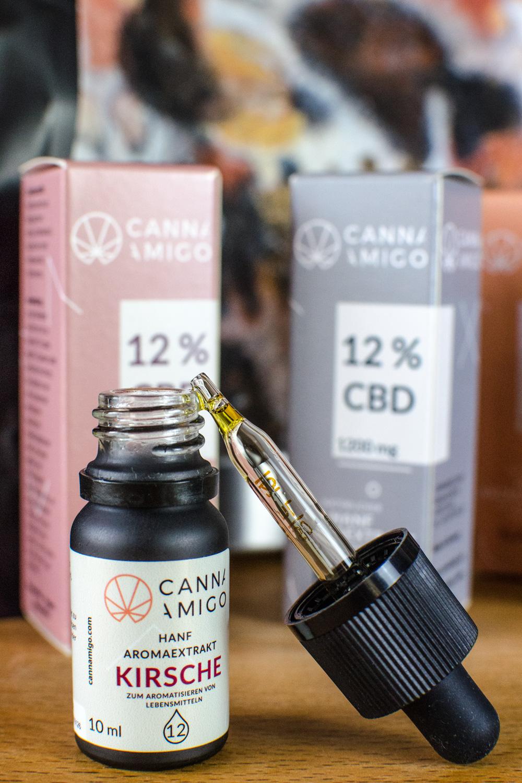 Hanföl Geschmack & Wirkung: Cannamigo Aroma-CBD-Öl [beinhaltet werbung]