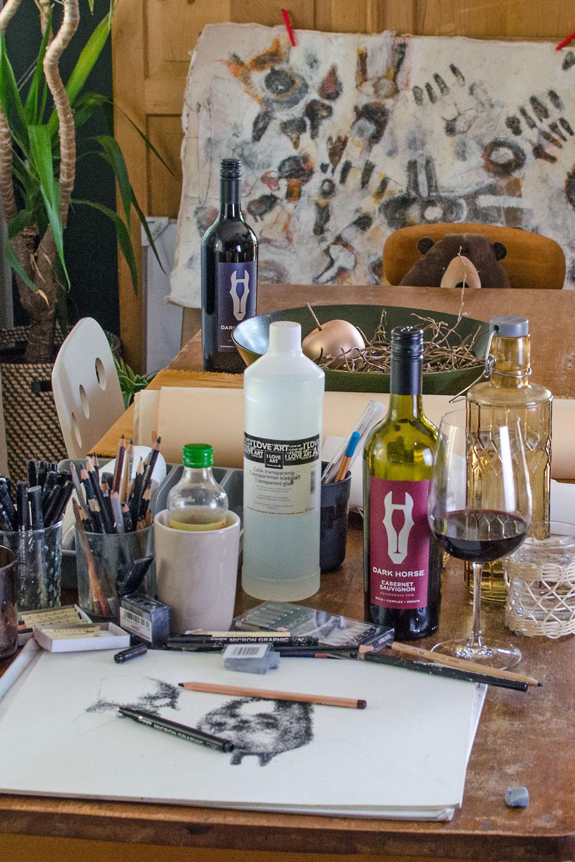 [anzeige]Was kaliformischer Wein, Kunst und Kreativität gemeinsam haben!