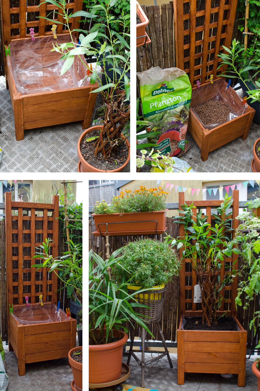 DIY Pflanzkasten mit Remmer Gartenöl [eco][anzeige]